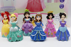 Princess Dress Up Figures Set (5988-3)