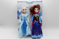Frozen Anna and Elsa Doll Toy (3812A/B)