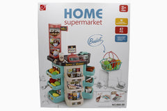 Home Supermarket Battery Operated Kitchen Set (668-86)