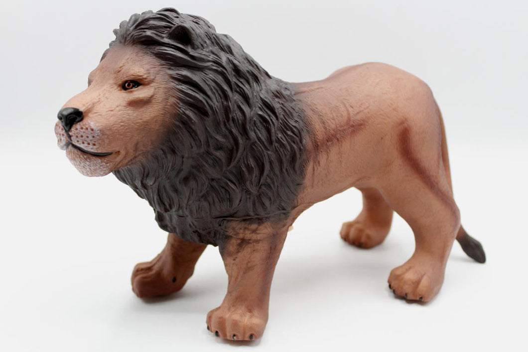 Lion Rubber Toy With Sound (Q9899-556A)