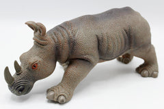 Rhinoceros Rubber Toy With Sound (Q9899-556A)