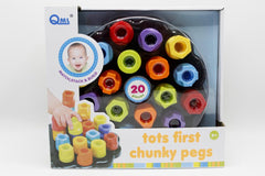 Tots First Chunky Pegs (M10A)