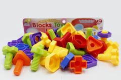 Happy Childhood Educational Blocks Toy (8820)