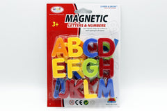 Magnetic Capital Letters Childrens Kids Learn Alphabet Toy Fridge (HM1171A)