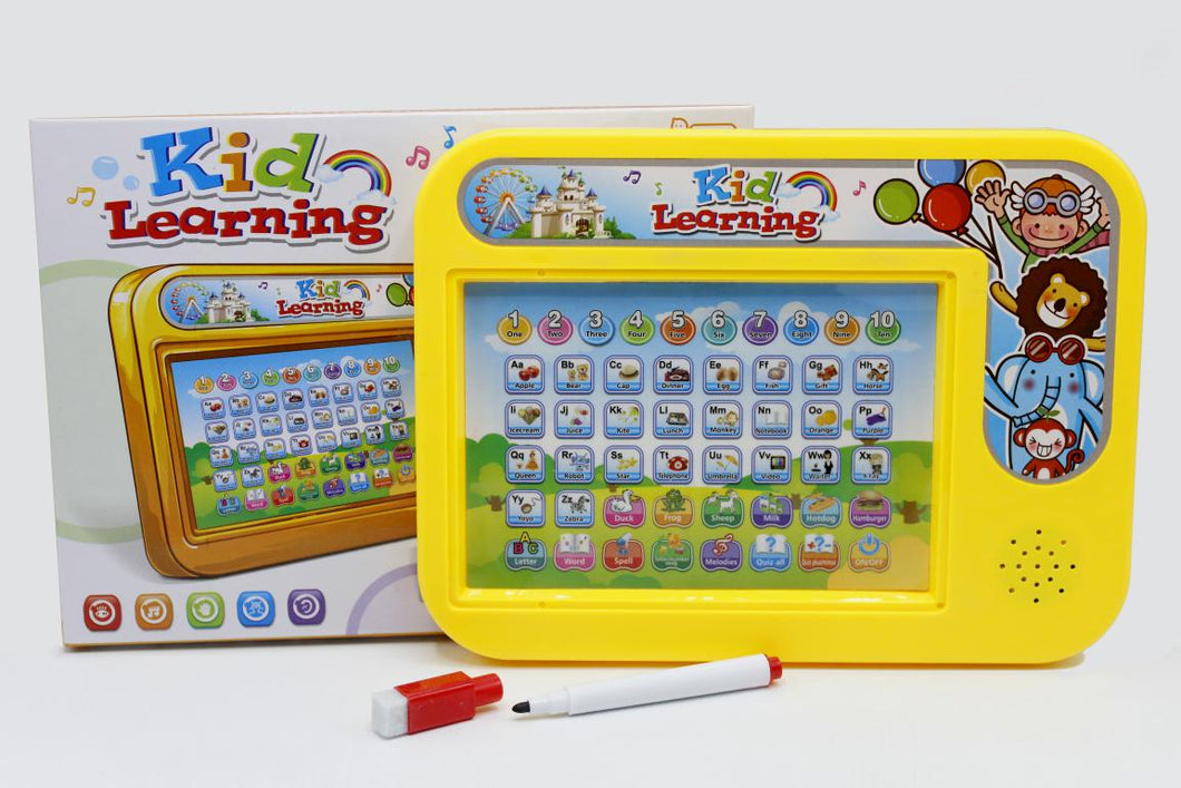 2 In 1 Educational Computer/iPad Learning Tablet With White Board For Kids (889-36)