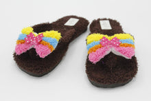 Load image into Gallery viewer, Cute Butterfly Fur Slipper