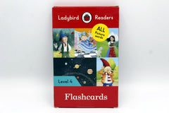Ladybird Readers Flash Cards Level 4