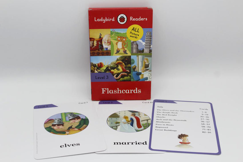 Ladybird Readers Flash Cards Level 3