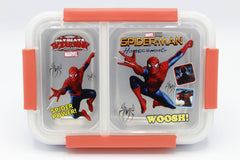 Spider Man Stainless Steel Lunch Box Red (XY-J138)