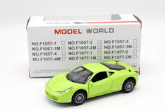 Model World Die Cast Model Car (F1057-2M)