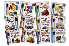 Write & Wipe Activities Pack of 12 Board Book