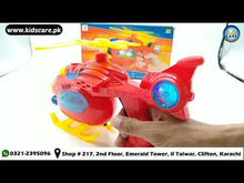 Load and play video in Gallery viewer, Spray Helicopter Gun Flash Light And Sound (ZR150)