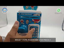 Load and play video in Gallery viewer, Frozen and Doraemon Number Bank Money Saver ATM (WF-3002)