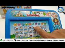Load and play video in Gallery viewer, 2 In 1 Educational Computer/iPad Learning Tablet With White Board For Kids (889-36)