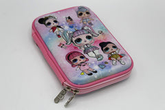 LOL Pencil Case & Stationary Pouch Pink (KC2998)