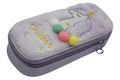 Unicorn Pencil/Stationary Pouch Purple (5979)