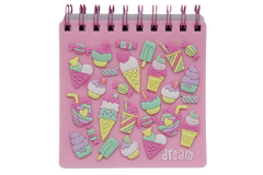 Ice Cream Jelly Cover Notebook Diary (KC3083)