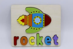 Wooden Rocket Board (KC3084)