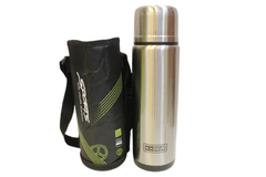 Sports Thermal Metallic Water Bottle With Cover (1886)