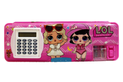 Hello Kitty & LOL Pencil Box With Calculator (GP65068-2)