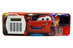 Mc Queen Cars & Frozen Pencil Box With Calculator (GP65068-2)