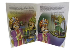 Akbar Birbal The Royal Parrot Story Book