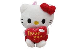 Hello Kitty Red Stuffed Keychain & Bag Hanging