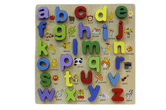 Wooden Abc Board Small Letters (KC3045)