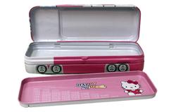 Princess & Hello Kitty Metallic Pencil Box (AD-030)