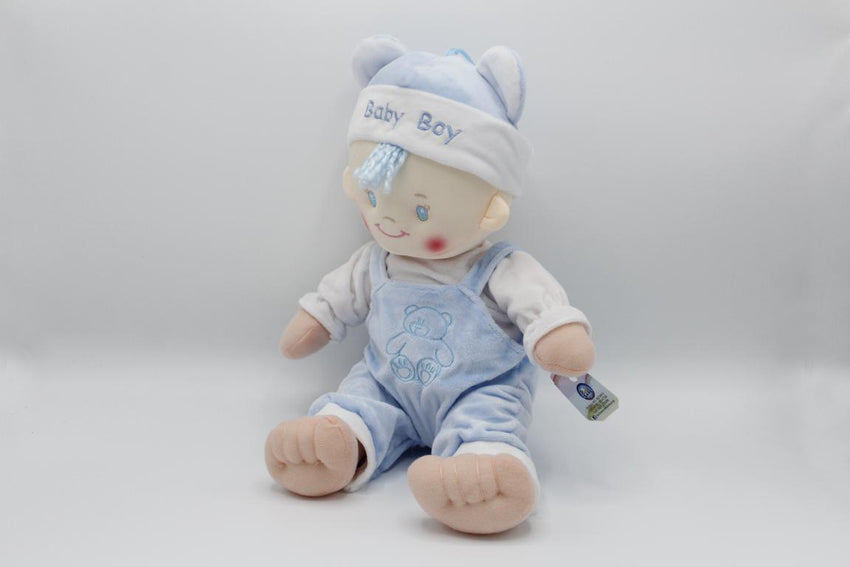 Baby Boy Stuffed Doll Blue (KC2991)