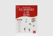 Load image into Gallery viewer, Writing Numbers 1-50 Basic Skills Book (2052)