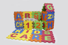 Abc & 123 Puzzle Play Mat Set of 72 Pcs (KC3022)