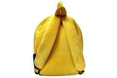 Minions & Pooh Stuffed Bag 14 Inches For KG-1 And KG-2 (CBN995)