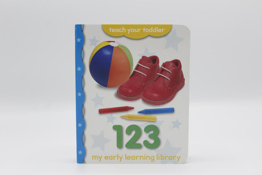 My Early Learning Library 123 Board Book