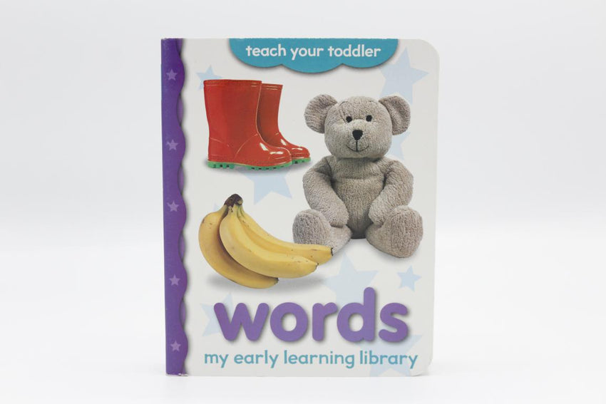 My Early Learning Library Words Board Book