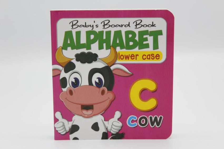 Alphabet Lower Case Baby's Board Book