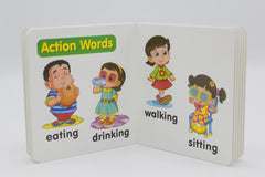 My Body & Action Words Baby's Board Book