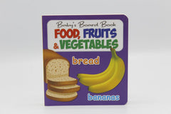 Food, Fruits & Vegetables Baby's Board Book