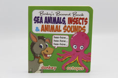 Sea Animals, Insects & Animal Sounds Baby's Board Book