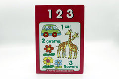123 A Fun To Learn Board Book