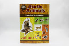 My First Exotic Animals Wipe Clean Activity Book