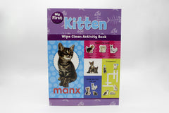 My First Kitten Wipe Clean Activity Book