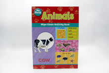 Load image into Gallery viewer, My First Animals Wipe Clean Activity Book