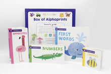 Load image into Gallery viewer, Box of Alphaprints Pack of 4 Board Books