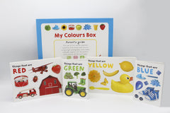 My Colours Box Pack of 4 Board Books