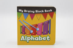 My Brainy Block Alphabet Board Book