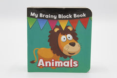 My Brainy Block Animals Board Book