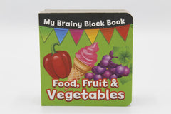 My Brainy Block Food, Fruit & Vegetable Board Book