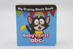 My Brainy Block Baby's First Abc Board Book