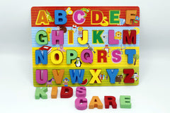 Wooden Abc Board Capital Letters (KC3077)